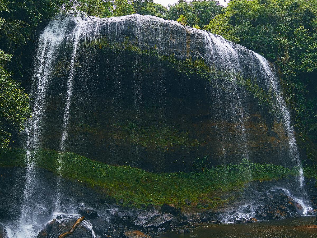 ガラスマオの滝の観光ガイド|パラオ最大瀑布で楽しむ大自然トレッキング