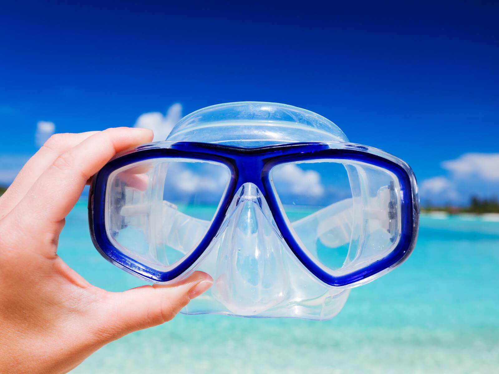 ダイビングマスクの選び方|初心者こそ押さえたいポイントやおすすめの製品